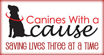 canines with a cause: saving three lives at a time.
